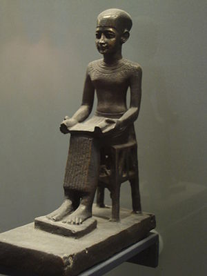 Imhotep at the Louvre