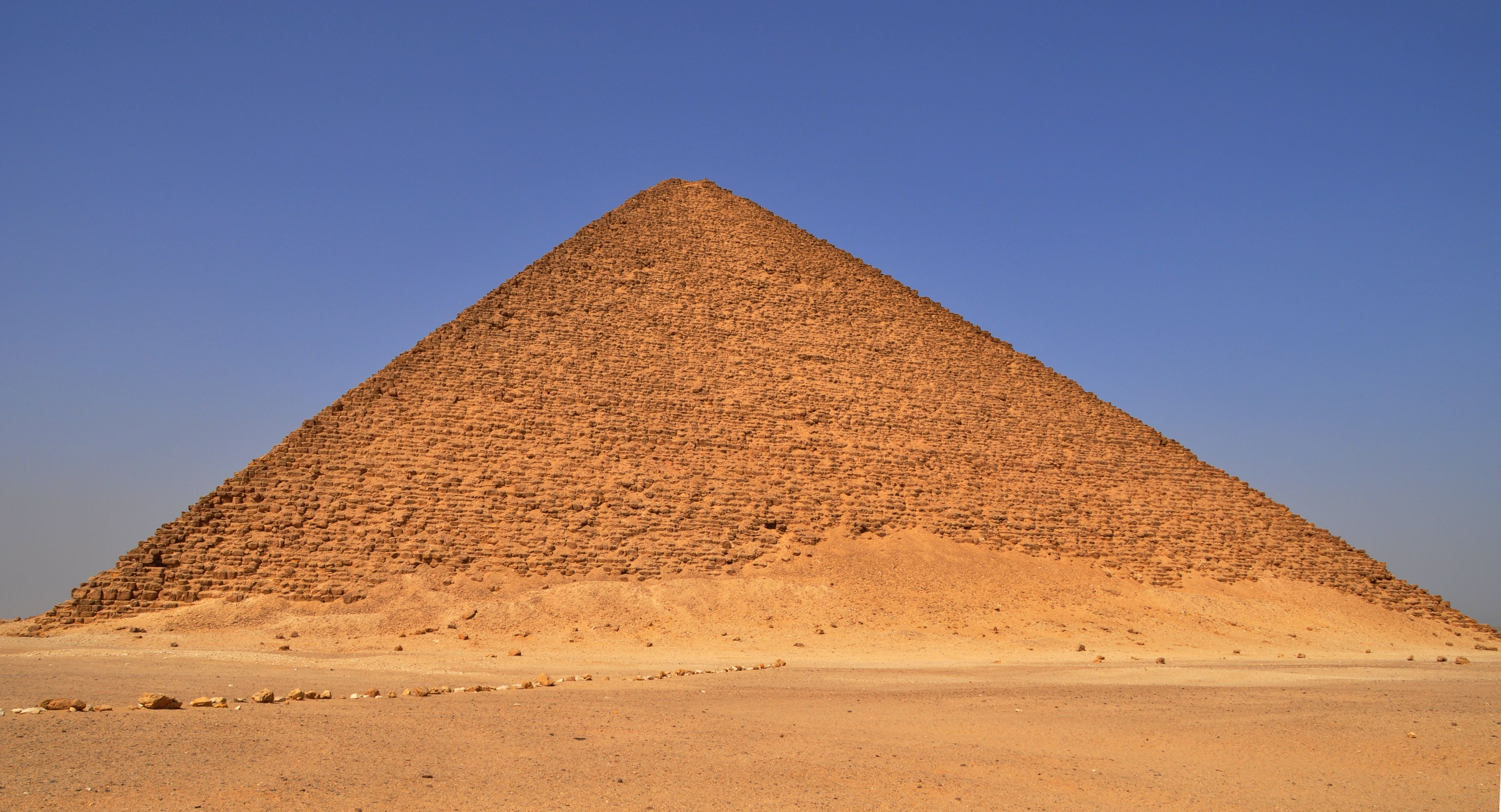 Inspired by Imhotep's efforts with the Step Pyramid, the great pyramid-building era of Egypt began with Sneferu, who finally built a true pyramid on his third attempt.